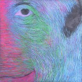Obraz do salonu artysty Viola Tycz pod tytułem Przodek 2