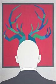 Obraz do salonu artysty Viola Tycz pod tytułem Znawca sztuki