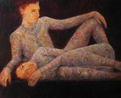 Obraz do salonu artysty Andrzej Wroński pod tytułem Na pokazie