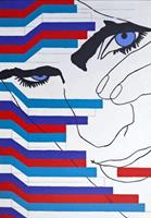Obraz do salonu artysty Viola Tycz pod tytułem Na krawędzi RGB_XX