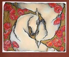 Grafika do salonu artysty Anna Starowoitowa pod tytułem Miłość dojrzała