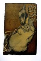 Grafika do salonu artysty Anna Starowoitowa pod tytułem Morfeusz