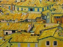 Obraz do salonu artysty Joanna Jeżewska-Desperak pod tytułem Słoneczna Toskania