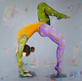 Obraz do salonu artysty Renata Magda pod tytułem Gimnastyczka