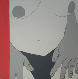 Obraz do salonu artysty Viola Tycz pod tytułem Nimfomanka XVI