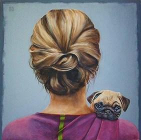 Obraz do salonu artysty Renata Magda pod tytułem Mała przyjaźń