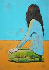 Obraz do salonu artysty Renata Magda pod tytułem Czekając na…