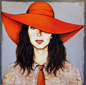 Obraz do salonu artysty Renata Magda pod tytułem Dama X