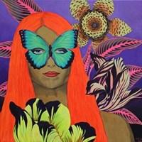 Obraz do salonu artysty Janina Zaborowska pod tytułem Ogrody VII