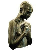 Rzeźba do salonu artysty Aleksandra Koper pod tytułem Bez tytułu. Absolutnie