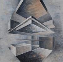 Obraz do salonu artysty Iwona Gabryś pod tytułem Kompozycja nr 9
