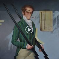 Obraz do salonu artysty Kamil Stańczak pod tytułem Dotknij pokrzyw VII