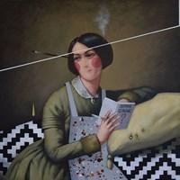 Obraz do salonu artysty Kamil Stańczak pod tytułem Dotknij pokrzyw VIII