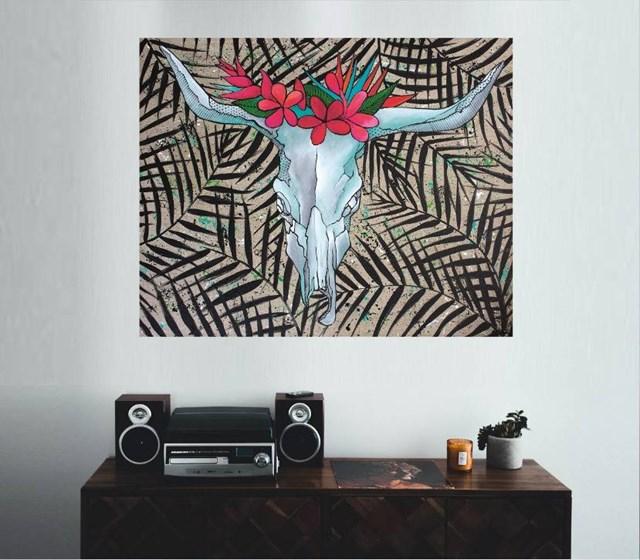 Bull's exotica - visualisation by Monika Mrowiec