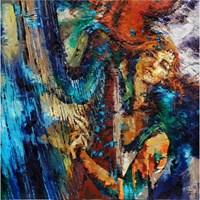 Obraz do salonu artysty Krystyna Róż-Pasek pod tytułem Odkrycie