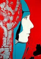 Obraz do salonu artysty Maga Smolik pod tytułem Muza