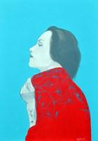 Obraz do salonu artysty Maga Smolik pod tytułem Dziewczyna z tatuażem