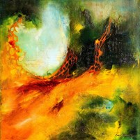 Obraz do salonu artysty Aneta Barglik pod tytułem Pulsowanie