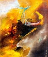 Obraz do salonu artysty Aneta Barglik pod tytułem Widzialne i Niewidzialne