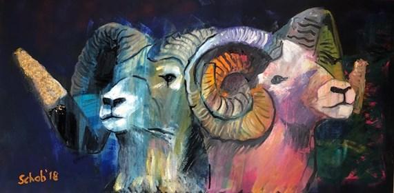 Obraz do salonu artysty David Schab pod tytułem Ciche dni