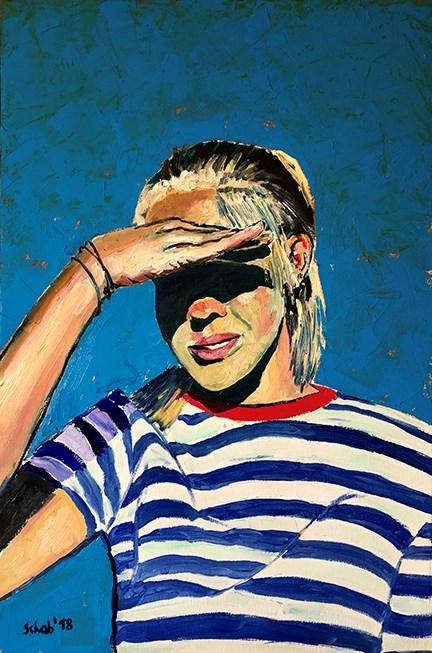 Obraz do salonu artysty David Schab pod tytułem Pod słońce