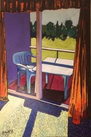 Obraz do salonu artysty David Schab pod tytułem Słoneczny poranek