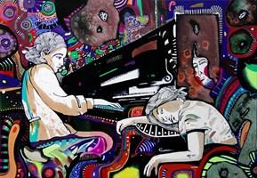 Obraz do salonu artysty Natalia Pastuszenko pod tytułem Do snu