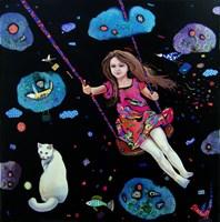 Obraz do salonu artysty Natalia Pastuszenko pod tytułem Lot