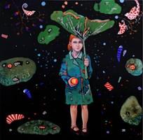 Obraz do salonu artysty Natalia Pastuszenko pod tytułem Parasol