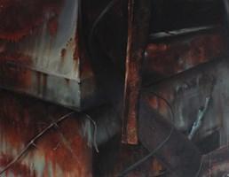 Obraz do salonu artysty Arkadiusz Siarkowski pod tytułem Przemijanie III