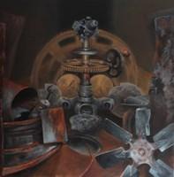 Obraz do salonu artysty Arkadiusz Siarkowski pod tytułem Przemijanie IV