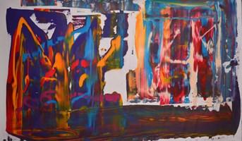 Obraz do salonu artysty Dominik Smolik pod tytułem Universum III