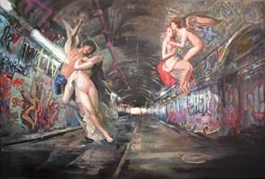 Obraz do salonu artysty Janusz Orzechowski pod tytułem Art Tunel