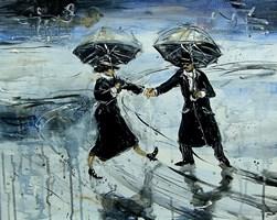 Obraz do salonu artysty Dariusz Grajek pod tytułem Jan podaj rękę