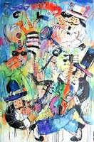 Obraz do salonu artysty Dariusz Grajek pod tytułem Karuzela