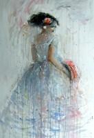 Obraz do salonu artysty Dariusz Grajek pod tytułem Bal
