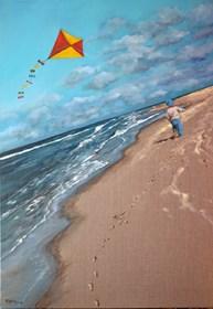 Obraz do salonu artysty Magdalena Kępka pod tytułem Magiczny świat M. - pragnienie latania