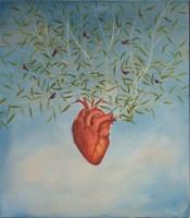 Obraz do salonu artysty Malwina de Brade pod tytułem Serce