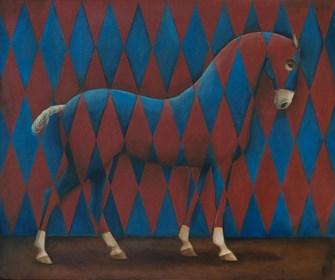 Obraz do salonu artysty Malwina de Brade pod tytułem W Rombach