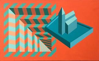 Obraz do salonu artysty Marcin Kowalik pod tytułem Powidok Kosciola