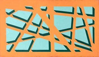 Obraz do salonu artysty Marcin Kowalik pod tytułem Pękniecie
