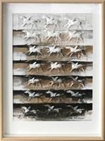 Obraz do salonu artysty Kamila Karst pod tytułem XXI Pegazów