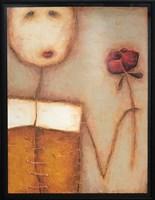 Obraz do salonu artysty Wojciech Odsterczyl pod tytułem Jej różyczka