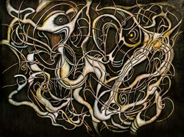 Obraz do salonu artysty Wojtek Więckowski pod tytułem `9.01`
