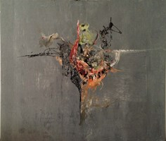 Living room painting by Wojtek Więckowski titled `10.12`