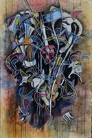 Living room painting by Wojtek Więckowski titled '5.02'