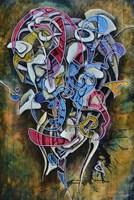 Obraz do salonu artysty Wojtek Więckowski pod tytułem '5.05'
