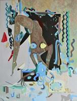 Obraz do salonu artysty Filip Gruszczyński pod tytułem Coniuncta Serpentis