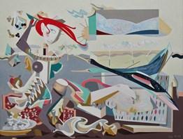 Obraz do salonu artysty Filip Gruszczyński pod tytułem Somnium Atratus