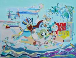 Obraz do salonu artysty Filip Gruszczyński pod tytułem Unplugged